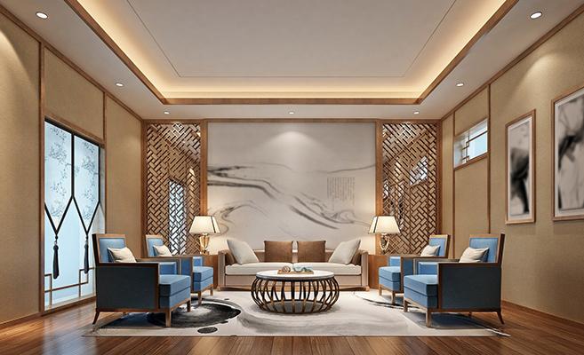 Ceiling design using light to create dimensionns